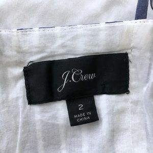 J. Crew Dresses - J.Crew Midi party dress in shirting stripes, NWOT